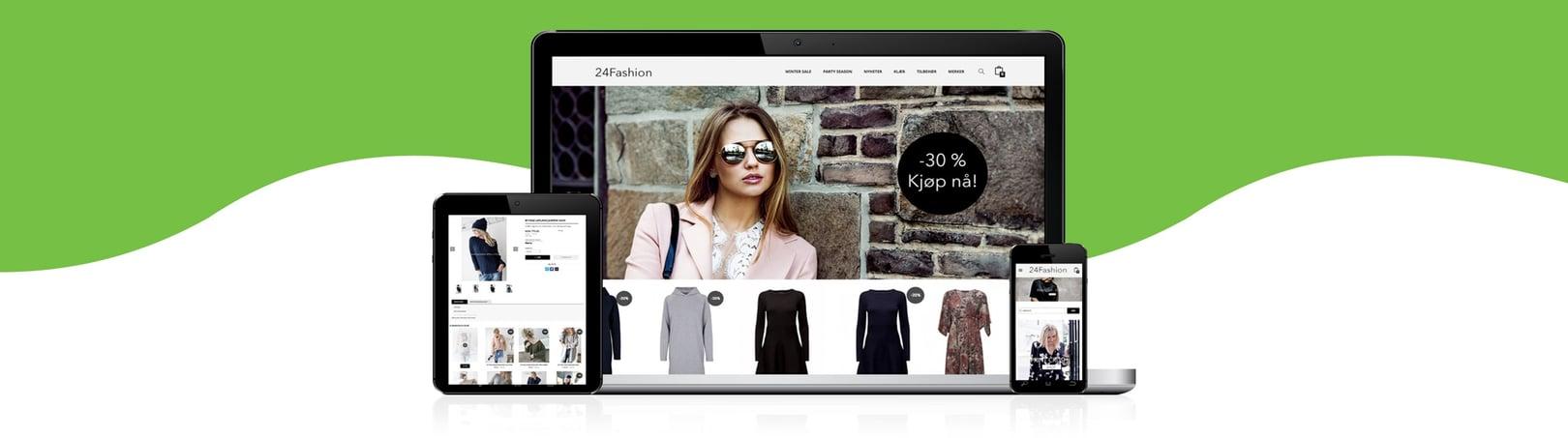 24nettbutikk - Start din nettbutikk nå