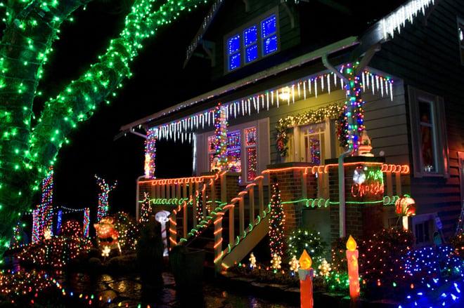 Et hus som gleder seg til jul
