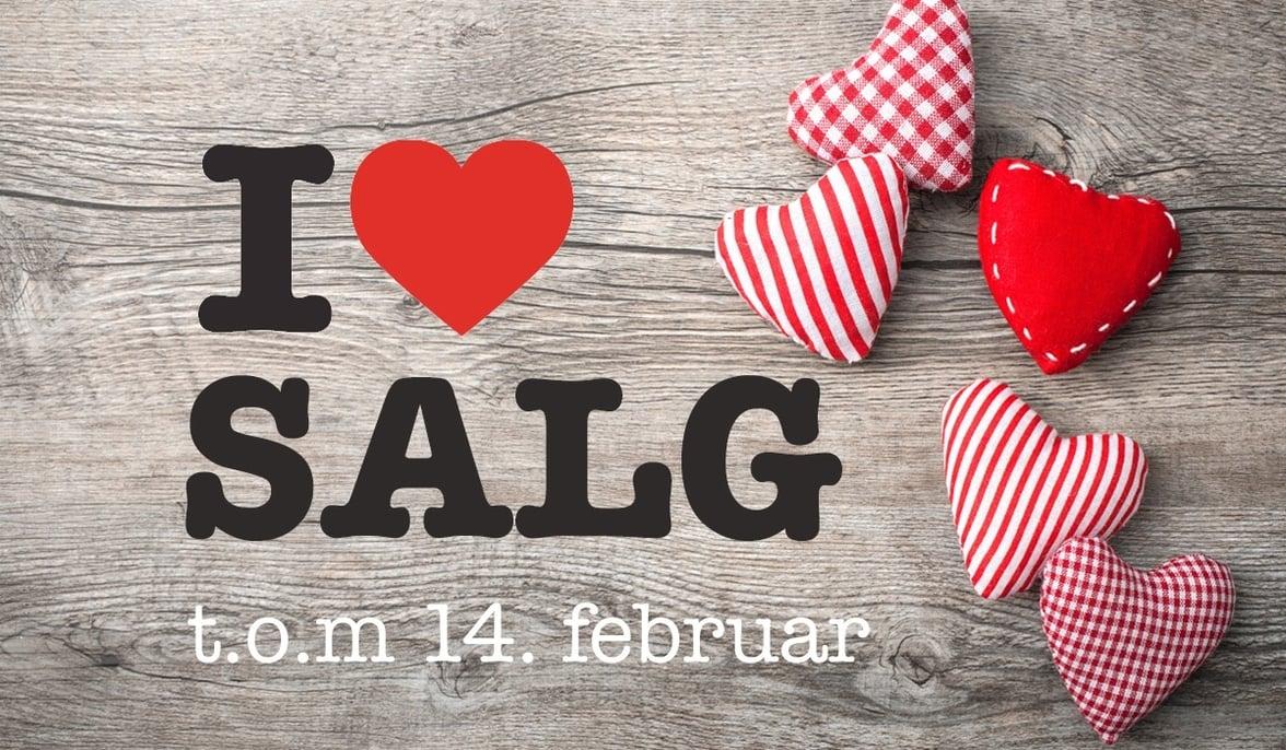 Valentines salg