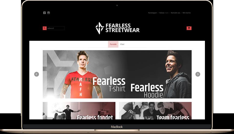 fearless streetware partnere 24nettbutikk