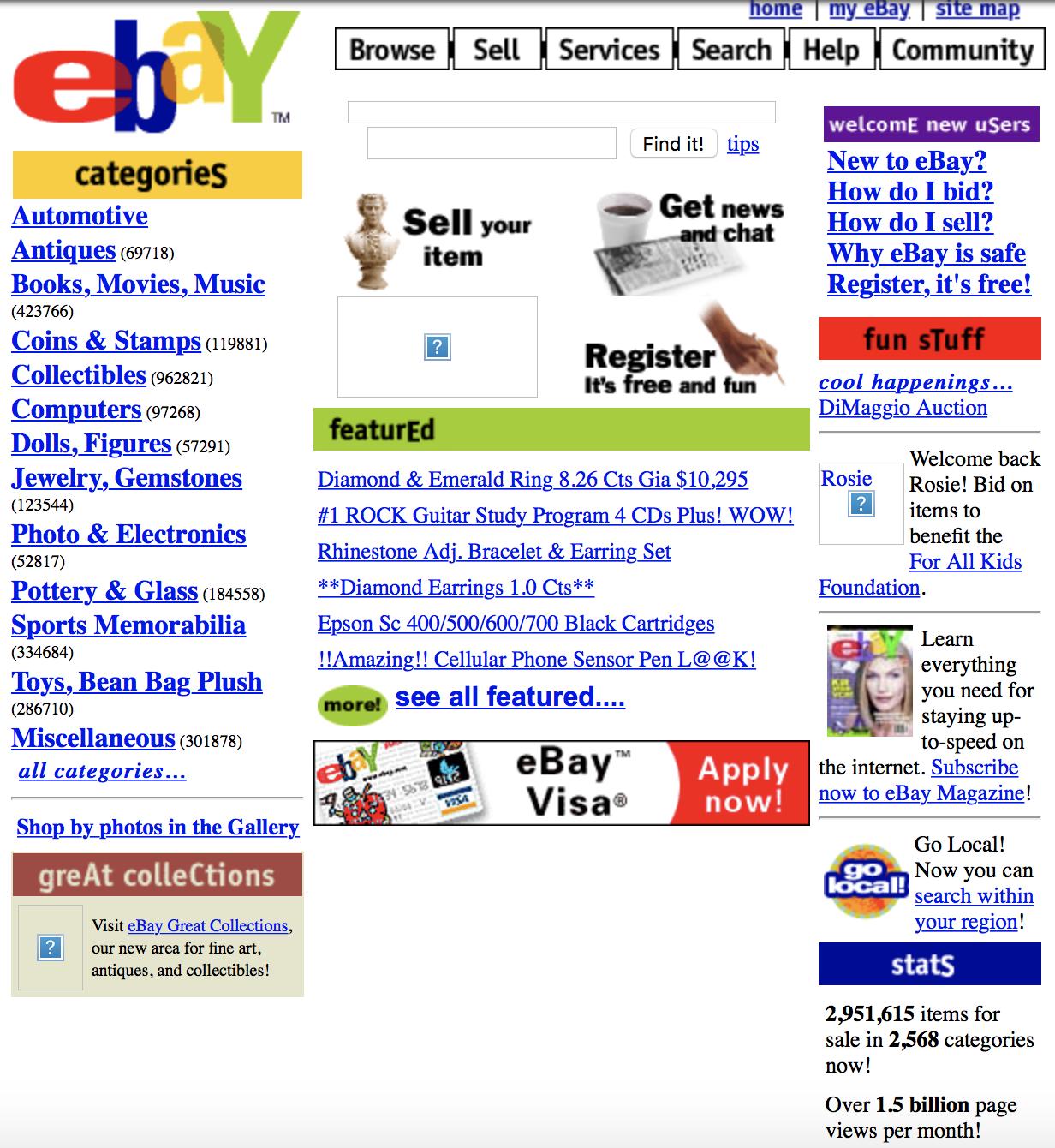 Ebay - 1999