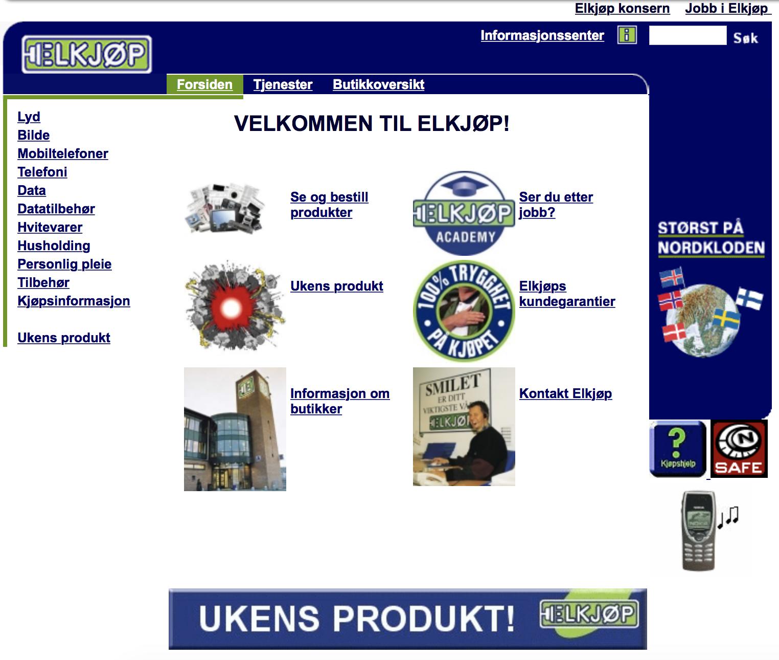 Elkjop.no - 2001