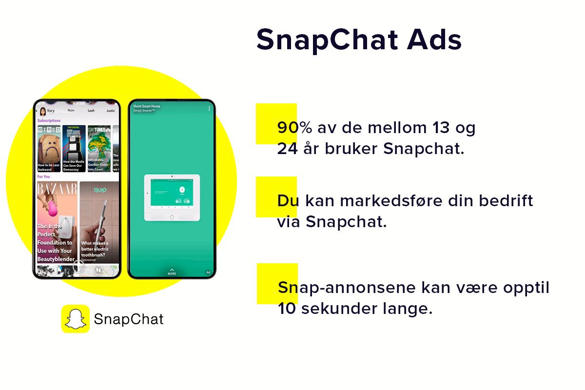 Snapchat Ads | Integrasjoner | 24Nettbutikk
